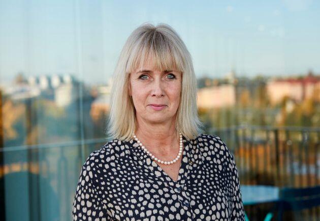 Elisabeth Ringdahl, divisionschef för Lantmännen Lantbruk och ordförande för Lantmännen Maskin.