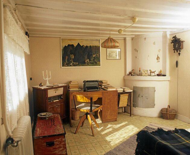 Moa Martinson skev flera av sina böcker i torpet Johannesdal i Sorunda söder om Stockholm.