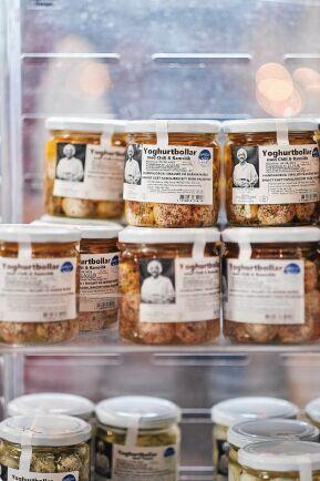 """Nablus Mejeris ostbollar utsågs till """"mest innovativa ost""""."""