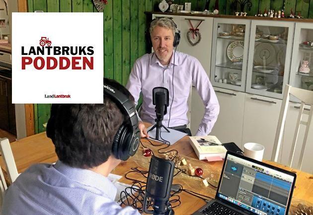 Erik Evestam, äganderättsexpert på LRF, gästar Lantbrukspodden för att prata strandskydd med reporter Göran Berglund.
