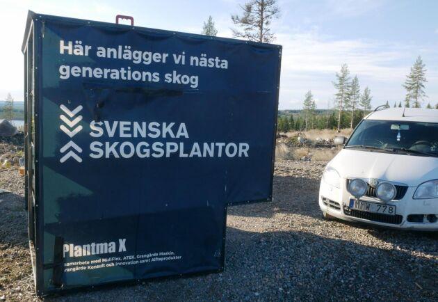 Plantma X är ett projekt med Svenska Skogsplantor, Sveaskog, Midiflex, ATEK, Grangärde Maskin, Grangärde Konsult och Innovation och Alftaprodukter.