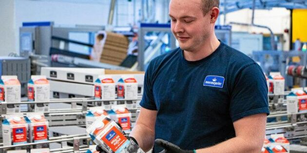 Norrmejerier miljoninvesterar i nya förpackningar