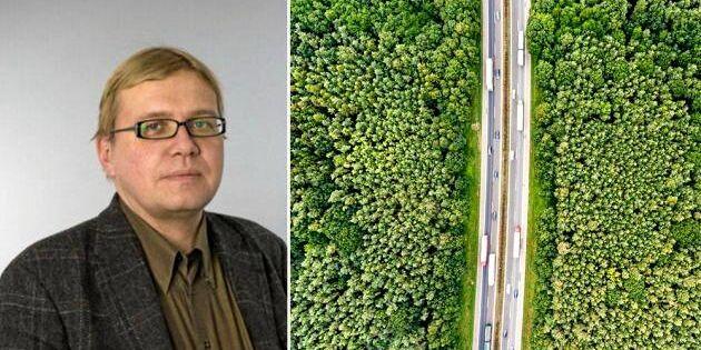 Jyri-Pekka har tagit fram grön bensin – i hemlighet