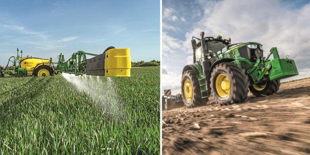 Nya sprutor och uppdaterade traktorer