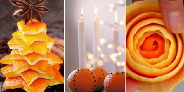 Magiskt med apelsin! 7 sätt att använda julens favoritfrukt