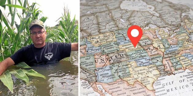 """Lantbrukare i USA: """"Har aldrig har sett så mycket regn som i år"""""""
