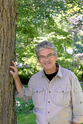 Harald Kratschmer är arborist och arbetar som konsult med trädinspektioner och trädvårdsplaner. Foto: Agneta Bergström