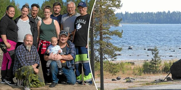 Byborna gick samman och räddade havsbadet från förfall