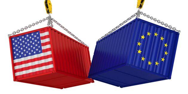 USA lägger 25 procents tull på EU:s jordbruksvaror