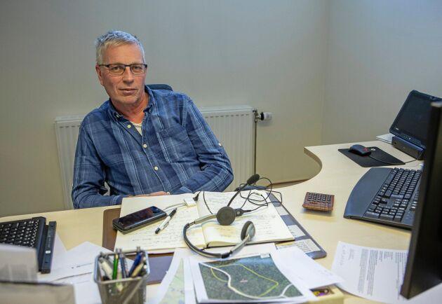 Mats Olofsson, Norras virkesområdeschef i Torne och Kalix älvdalar menar att förutsättningen för en ökad export är att det finns en mätcentral som mäter enligt svensk standard.