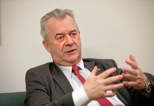 """""""För mig är det viktigt att inte skogsägarna kommer i kläm"""", sade landsbygdsminister Sven-Erik Bucht i samband med beskedet om en ny nyckelbiotopsinventering."""