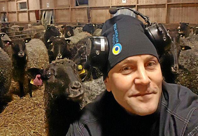 –Det är trendigt att äta lammkött vilket också gör att det går att få bra lönsamhet i lammproduktion. Det säger Elof Nilsson, styrelseledamot i Fåravelsförbundet och får- och nötproducent på Gotland.