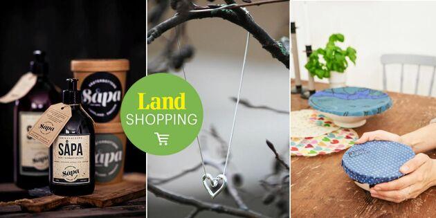 Svenskt, återvunnet & hållbart! Black Friday blir Green i Land Shopping