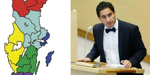Moderaterna hoppar av förhandlingarna om storregioner