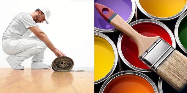Lands målarskola steg 4: Så gör du förarbetet!