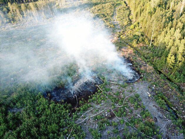 Räddningstjänsten har under våren och sommaren tvingats rycka ut till närmare 50 anlagda skogsbränder runt Långemåla.