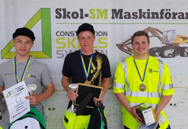 SM-vinnare blev Johan Larsson från Wisbygymnasiet. Två kom Felix Johansson från Kattegattgymnasiet i Halmstad. Trea blev Marcus Bolin på Ingelstadgymnasiet.