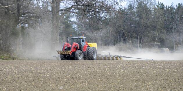 Krisstödet till lantbruket höjs med 350 miljoner i år