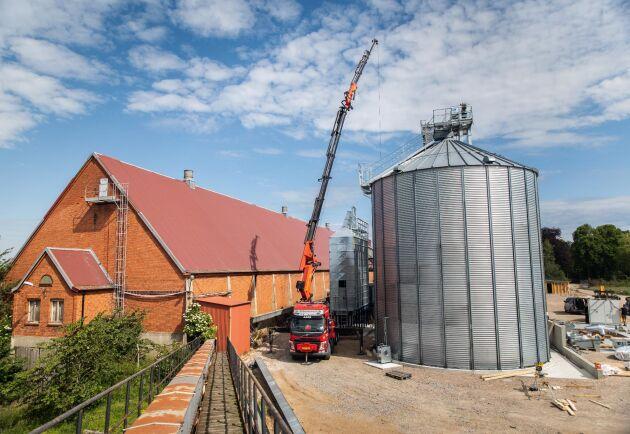 Den nya anläggningen i Jordberga blir BM Agris största.