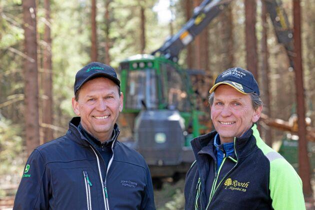 Hans Rooth och Roger Rooth driver Rooths skogsvård, som är en av finalisterna i Årets spjutspets 2020.