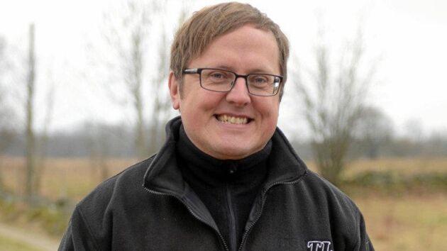 Christer Yrjas, projektledare på Grön Arena på Hushållningssällskapet.
